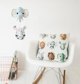 Studio Ditte Kussenhoes Wilde Dieren - Cool