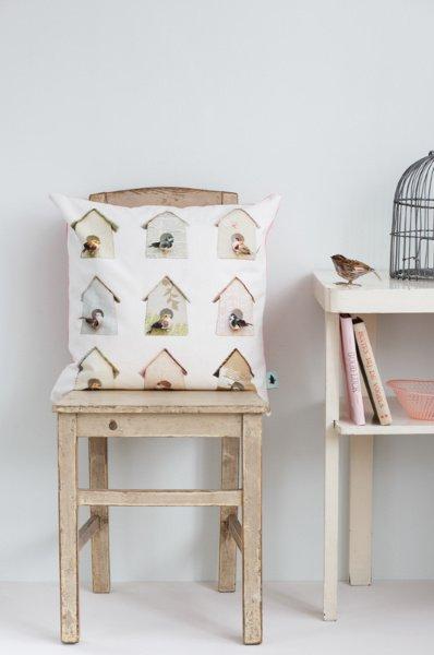 Studio Ditte Kussenhoes Vogelhuisjes