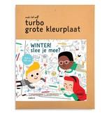 Makii XXL turbo kleurplaat 'Winter'