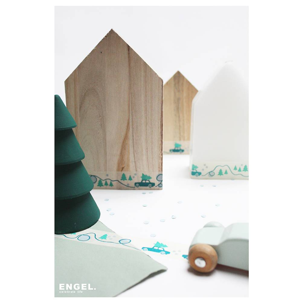 ENGEL. Tape eco paper Winter