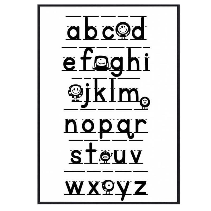 Zoedt Poster Alfabet