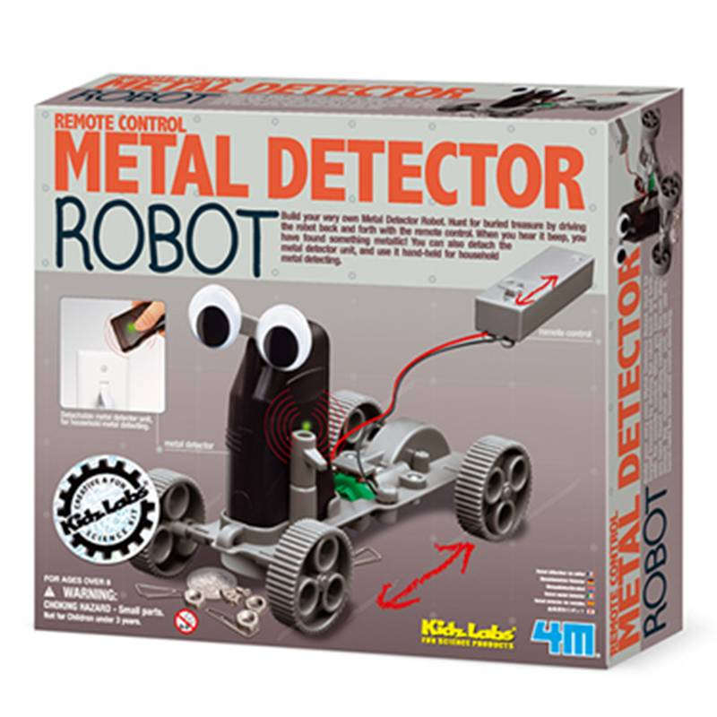 4M Metaal detector robot