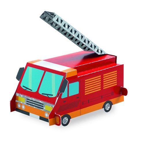 Djeco Paper toys - Voertuigen