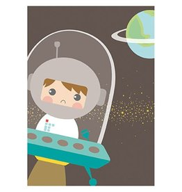 Papiergoed Poster Astronaut A4