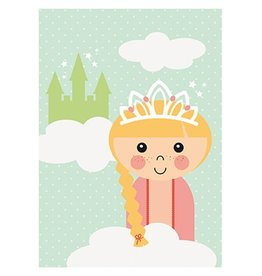 Papiergoed Poster Prinses A4