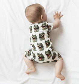 Snurk Baby jumpsuit maat 68 Dinosaurus
