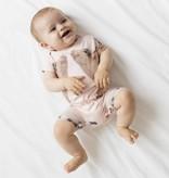 Snurk Baby jumpsuit maat 80 Piggies