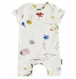 Snurk Baby jumpsuit maat 68 Flower Fields