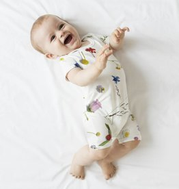 Snurk Baby jumpsuit maat 80 Flower Fields