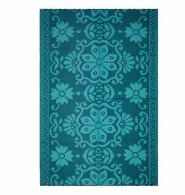 Colorique Vloerkleed Blauw Zeegroen