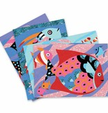 Djeco Gekleurd zand - Regenboog van vissen