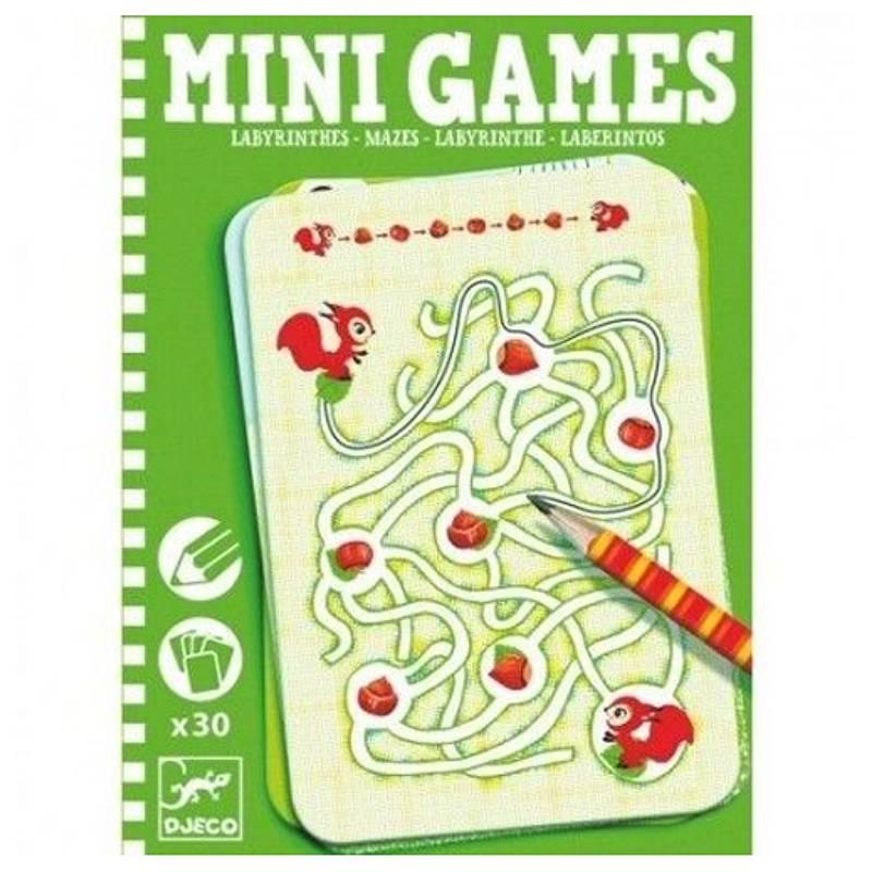 Djeco Doolhof - mini games pocketversie