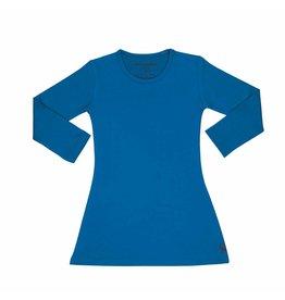 Mambotango Mambotango - Kleedje longsleeve blauw