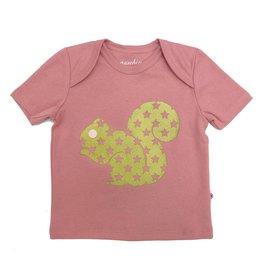 Redurchin Redurchin - T-shirt eekhoorn roos