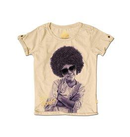 Stones and Bones Stones and Bones - T-shirt Melanie Afro Beige