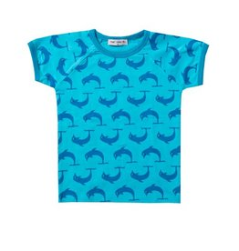 Mini Cirkus Mini Cirkus - T-shirt Dolfijn Blauw