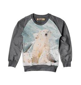 Stones and Bones Stones and Bones - Sweater Ijsbeer Grijs