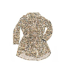 Stones and Bones Stones and Bones - Kleedje Kattenpostzegels