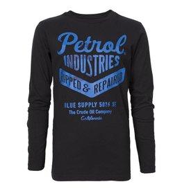 Petrol Petrol - Longsleeve zwart