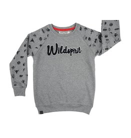 Stones and Bones Stones and Bones - Sweater Imagine Wildspirit Grey