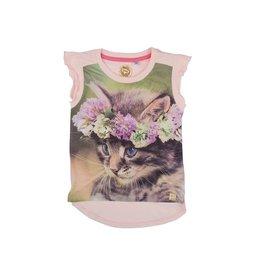 Stones and Bones Stones and Bones - T-Shirt Linette Kitten Pink