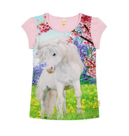Wild Wild - T-shirt Witte Pony Roos