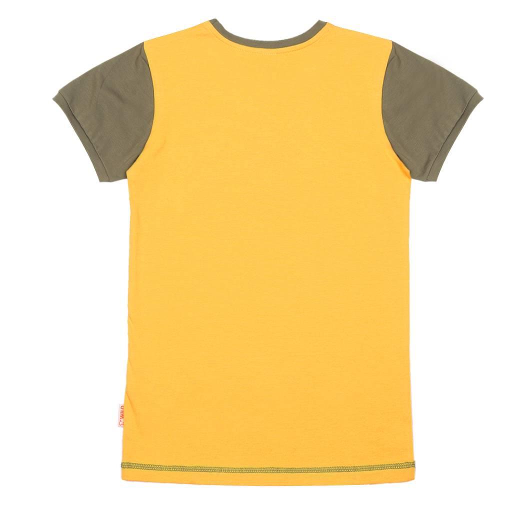 Wild Wild - T-shirt Aap Geel
