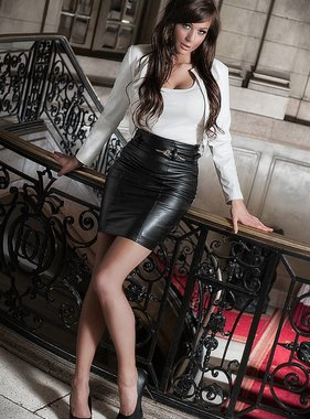 Soleil Fashion Chique halfway skirt