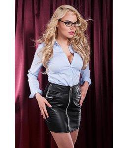 Soleil Fashion Chique halfway skirt with zipper