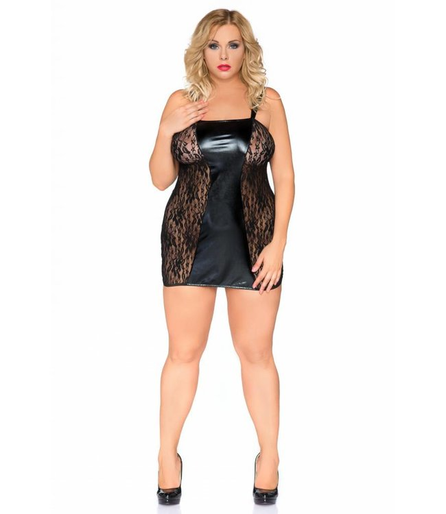 Andalea SEXY CHEMISE WITH ZIP