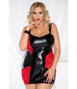 Andalea SEXY LATEX LACE CHEMISE