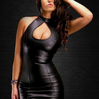 Leather and Latex (look)