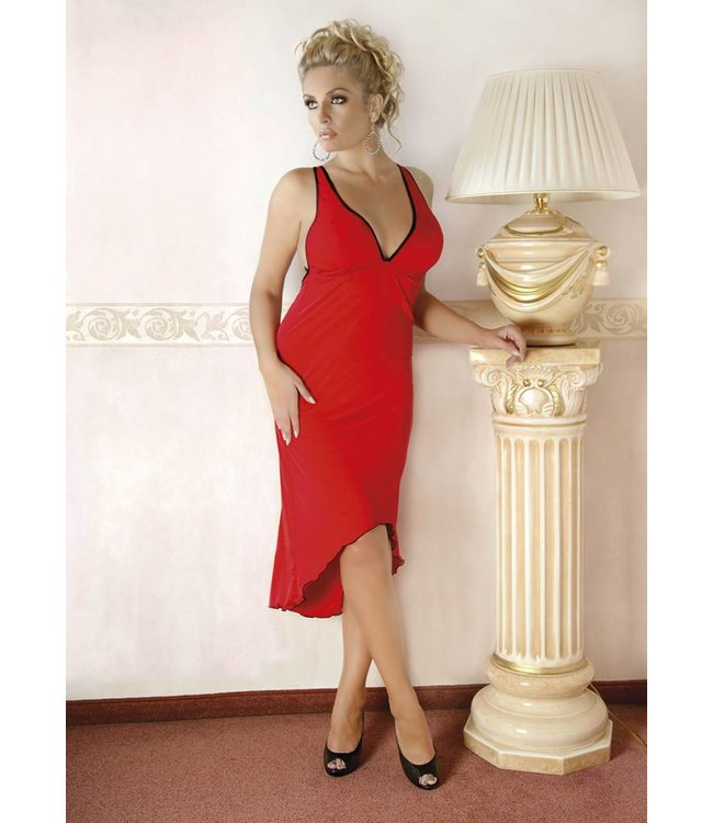 Andalea FLEXIBLE LONG RED DRESS
