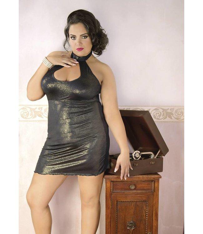 Andalea GOLDEN MINI DRESS