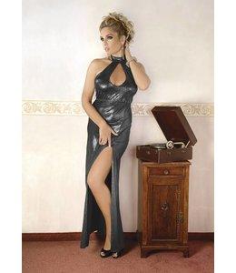 Andalea SILVER DRESS WITH SPLIT