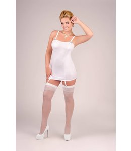 Andalea DELICATE CHEMISE WITH LONG LACING AT THE BACK