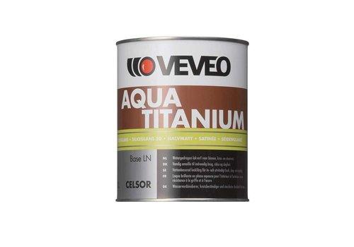 Veveo Celsor Aqua Titanium Zijdeglans