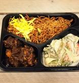 3-vaks maaltijd daging smoor en sajoer lodeh