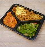 3-vaks maaltijd sambal udang met kouseband