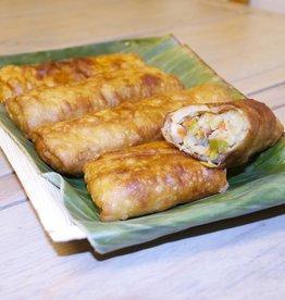 Indische loempia met kip