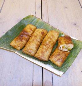 Indische loempia vegetarisch