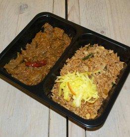 2-vaks maaltijd daging rendang