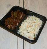 2-vaks maaltijd sambal tempeh