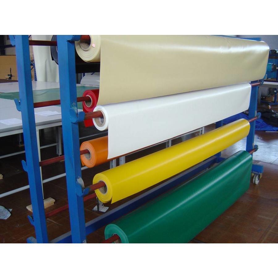 PVC zeildoek 650 gr/m2 van de rol gesneden
