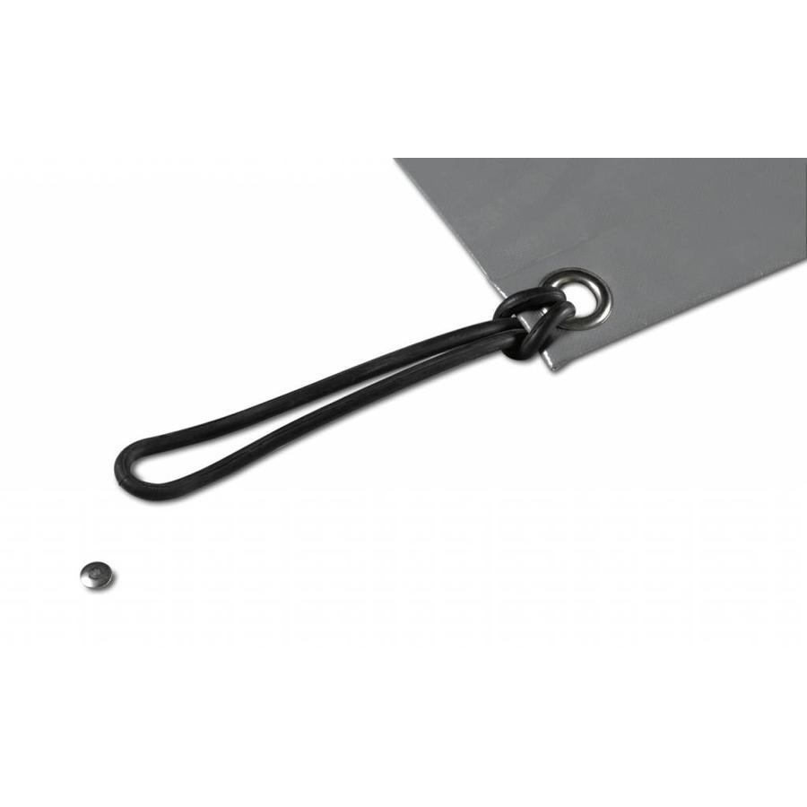 Pitons escamotables inox/aluminium diam. 10mm