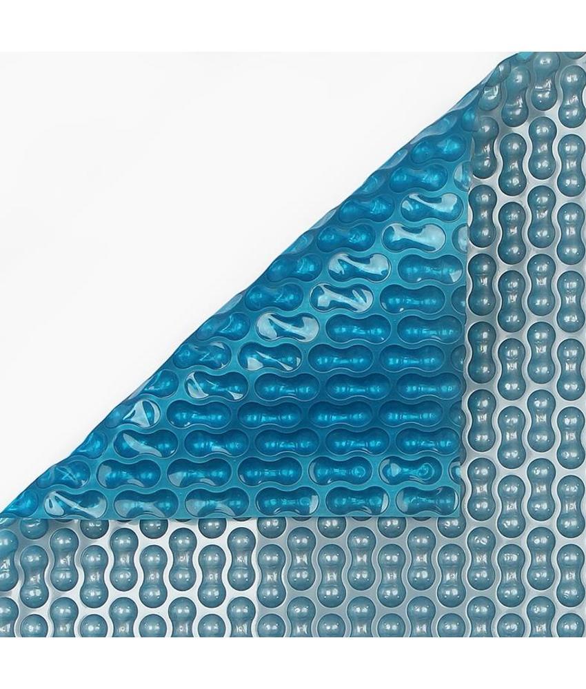 Zwembadzeil noppenfolie Blauw/Zilver 400 micron