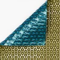 Bâche à bulles Bleu/Doré 500 micron Geobubble