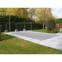 Winternet voor zwembad PVC gaas 280 gr/m²