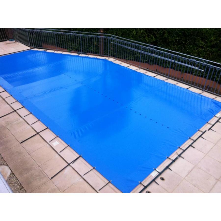 Bache d'hiver piscine en mesure