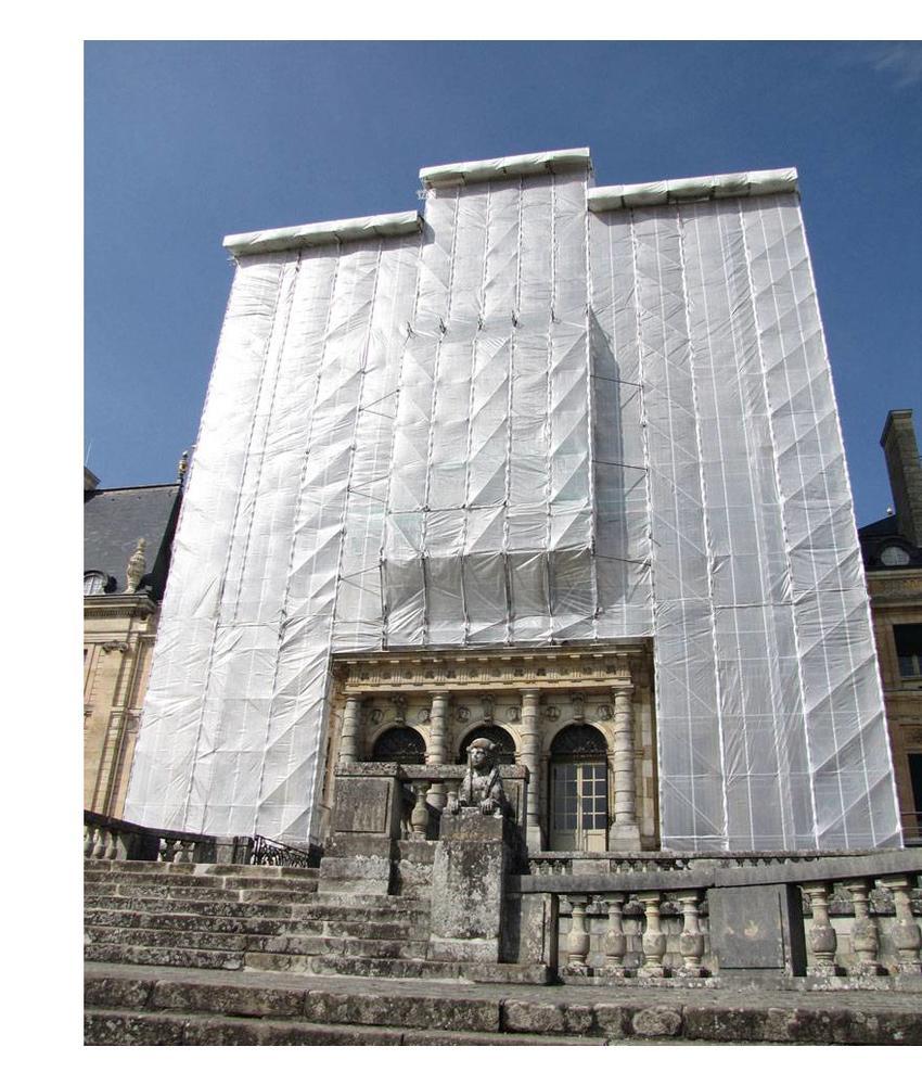 Steigerweefsel 2,57m x 50m Wit